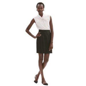 NWT MM. Lafleur Black Crosby Skirt | Size 4